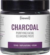 IOSSI | Purifying Facial Cleansing Paste with Charcoal | Natuurlijke Gezichtsreiniger | Reinigingspasta | Gezichtsscrub | Face Scrub
