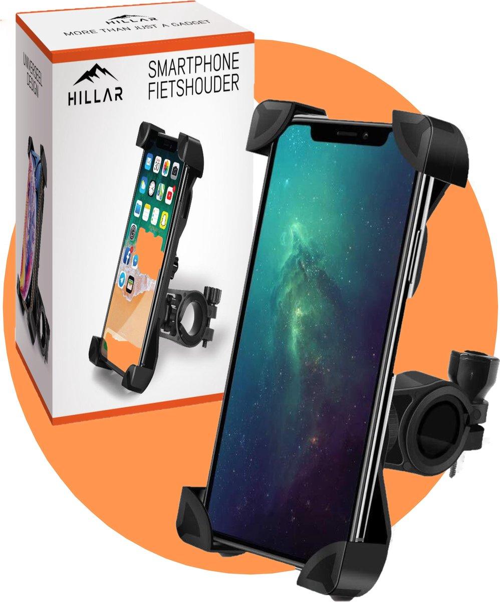 Hillar® Telefoonhouder Fiets Universeel - Smartphone Houder Fiets - Motor - Scooter - GSM Houder Fie