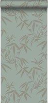 Origin behang bamboe bladeren groen - 347736 - 0.53 x 10.05 m