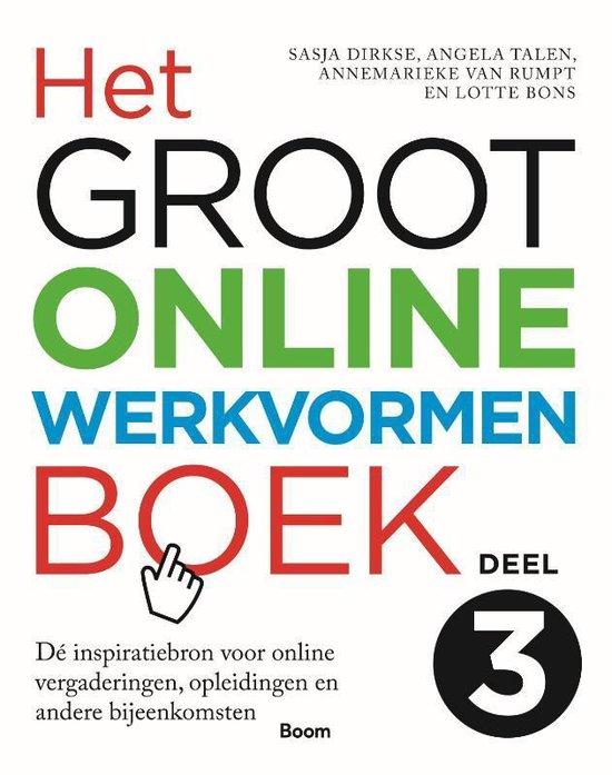 Het groot online werkvormenboek 3