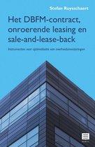 Het dbfm-contract, onroerende leasing en sale-and-lease-back