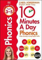 10 Minutes A Day Phonics, Ages 3-5 (Preschool)