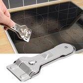 Sterke Glasschraper - Glaskrabber - Kookplaat Reiniger- Verfkrabber - Schraper - Inclusief 5 mesjes
