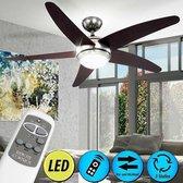 Plafondventilator - LED Verlichting - Afstandbedie
