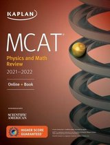 Boek cover MCAT Physics and Math Review 2021-2022 van Kaplan Test Prep