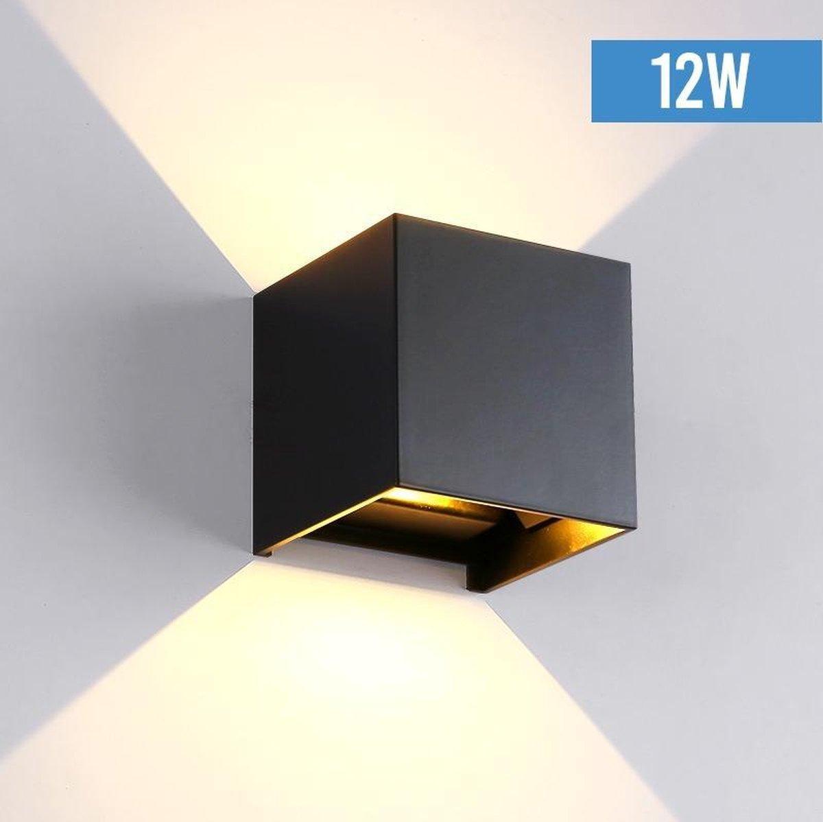 BIZZ Light   LED-wandlamp - voor binnen en buiten - warm wit