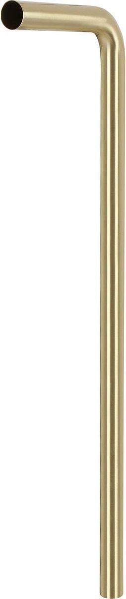 Differnz Vloerbuis - Mat goud - 75 cm x 22 cm