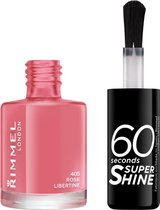 Rimmel London 60 seconds supershine nagellak - Rose Libertine - Cream