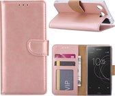 Sony Xperia XZ1 Compact - Bookcase Rose Goud - portemonee hoesje