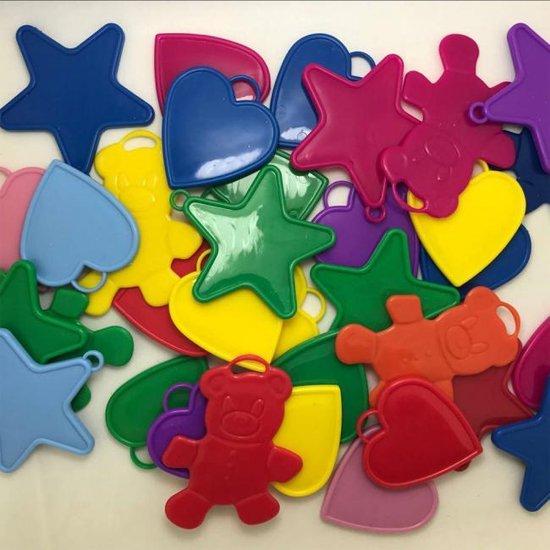 Ballongewicht allerlei kleuren 100 stuks