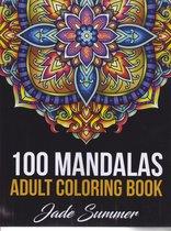 Mandala Coloring Book - 100 Mandalas