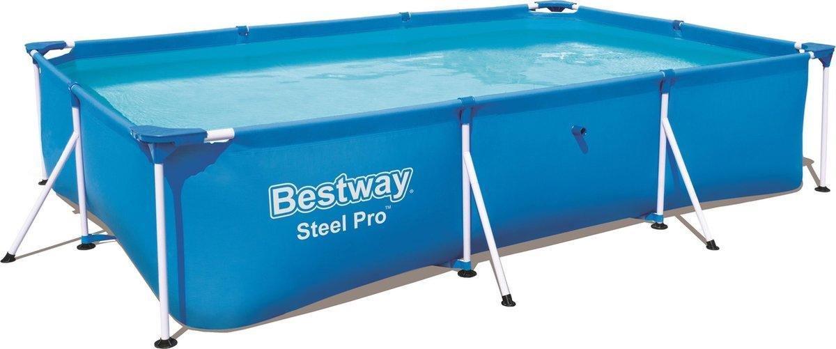 Bestway Frame Pool Deluxe Splash 300 x 201 x 66 cm - Opzetzwembad - Zwembad