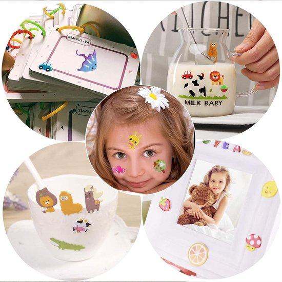 Stickervellen -  45 Stickervellen Voor Kinderen en Peuters - 3D Foam Stickers - Swilix Mega Pack