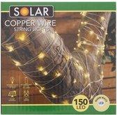 Solar copper wire string lights sfeer verlichting - led - LED - tuin verlichting - decoratie licht - Warme witte Led-verlichting met koperdraad statische stand & knipperfunctie - zonne-energie - bespaart energie - Inclusief oplaadbare batterij -