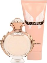 Paco Rabanne Olympea Giftset - 50 ml eau de parfum spray + 75 ml bodylotion - damesparfum