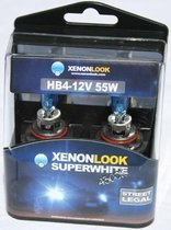 Xenonlook Super White HB4 4300K 55w