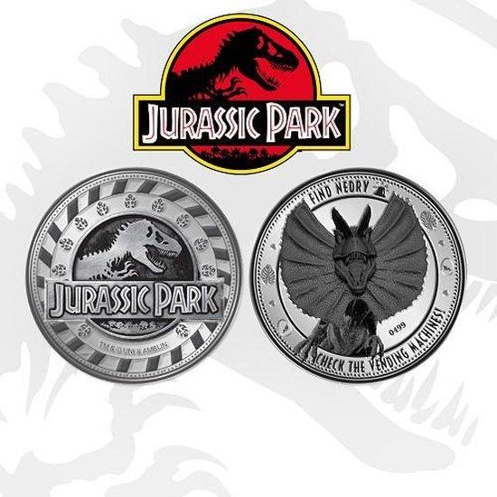 Afbeelding van het spel JURASSIC PARK - LIMITED EDITION MUNT