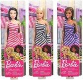 Barbie Glitz pop - Paarse jurk