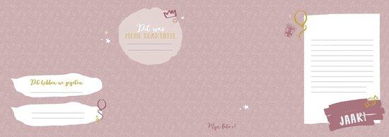 Mijn verjaardagenboek - roze - invulboek voor verjaardagsherinneringen baby en kind