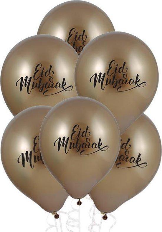 Party Colors Eid Mubarak Ballonnen 10 stuks l 30 cm