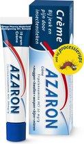 Azaron Crème - Bij jeuk en pijn door insectensteken zoals muggen, kwallen, wespen, bijen, mieren en processierups - 10g