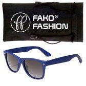 Fako Fashion® - Kinder Zonnebril - Wayfarer - Blauw