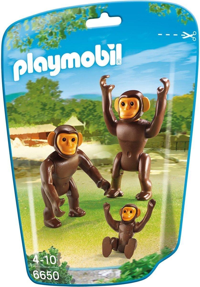 Playmobil chimpansee