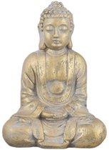 Boeddha Beeld - Tuinbeeld - Decoratie - 27 x 18 x 38 cm