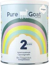 Pure Goat Company - Opvolgmelk 2 - Biologische flesvoeding op basis van volle geitenmelk - 800 gram