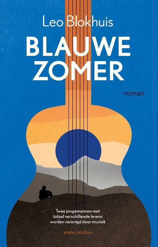 Boek cover Blauwe zomer van Leo Blokhuis (Paperback)