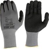 Dames Tuinhandschoen Allflex®   Safety Jogger®   Werkhandschoen - Nitrile coating met Nylon + Spandex® Liner   Maat 8 ( M )