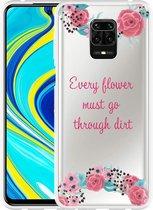 Xiaomi Redmi Note 9 Pro Hoesje Every Flower