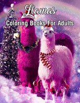 Llama Coloring Books For Adults