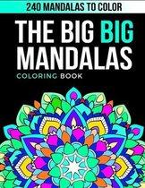 The Big Big Mandalas Coloring Book