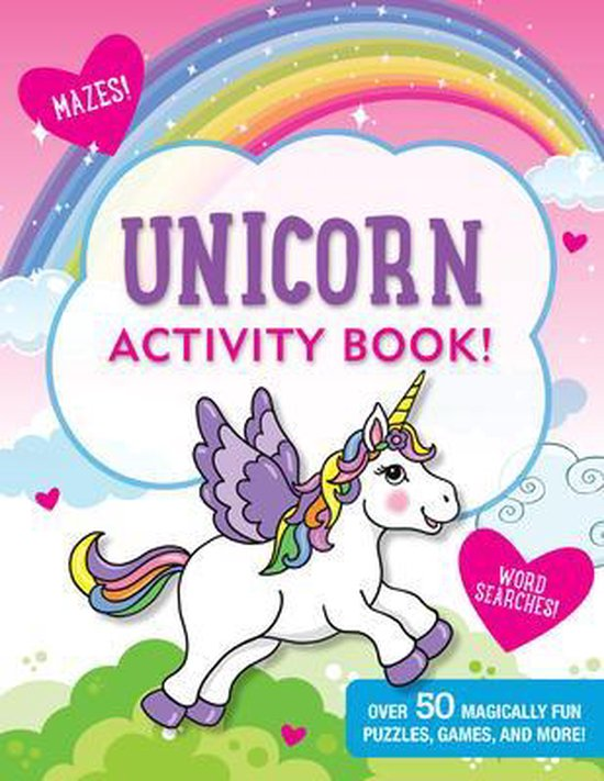 Unicorns Activity Book