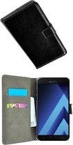 Samsung Galaxy A5 (2017) smartphone hoesje wallet book style case zwart