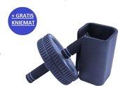 Kaytan - Fitness wheel - Buikspiertrainer - Ab roller - Krachttraining - Home training - Inclusief gratis knie mat!