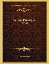 Goethe's Philosophy (1896)