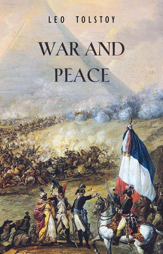 Boek cover War and Peace van Leo Tolstoy (Onbekend)