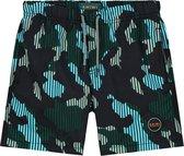 Shiwi Boys Swimshort Camouflage - khaki - 164