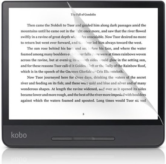 Kobo Libra H20 Screenprotector - Kobo Libra H20 Ereader Screen Protector