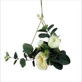 Plantenhanger Binnen voor Hangende Bloemen - Geometrisch Driehoek- Woondecoratie - Nordic Style - Metaal - Goud