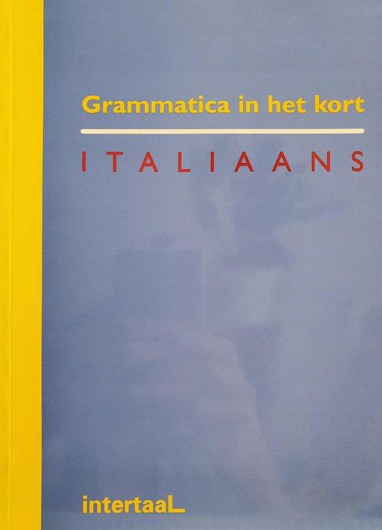 Grammatica in het kort Italiaans - R. Tartaglione | Fthsonline.com
