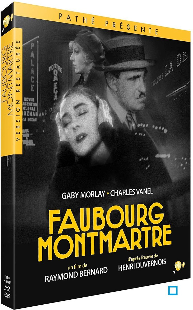 Faubourg Montmartre - Edition Collector DVD + Blu-Ray-