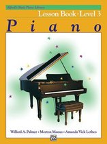 Boek cover AlfredS Basic Piano Library Lesson 3 van Willard A Palmer