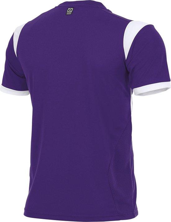 hummel Club Shirt k.m. Sportshirt - Paars - Maat S