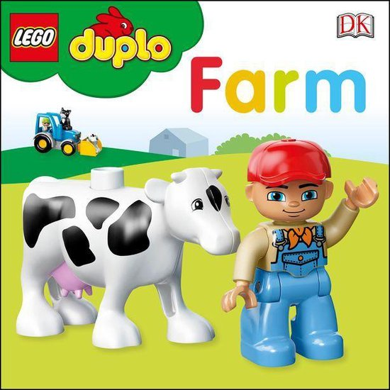 Boek cover LEGO DUPLO On the Farm van Dk (Onbekend)