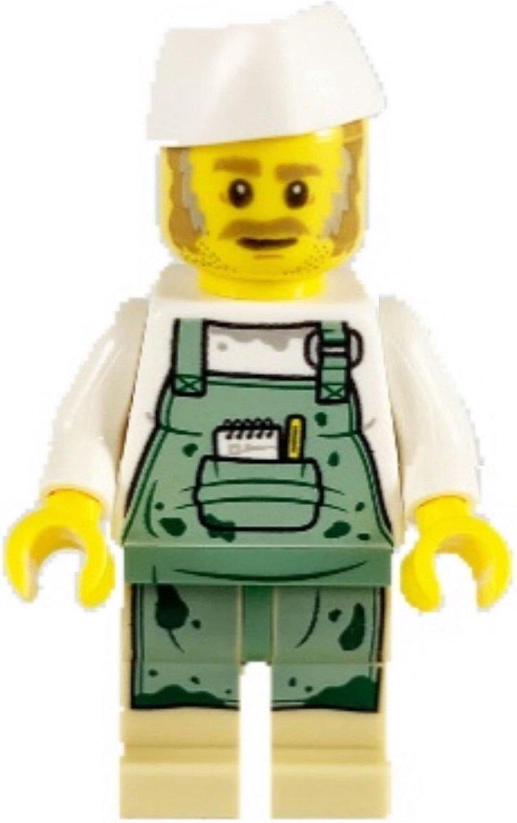 LEGO Hidden Side Chef Enzo minifiguur HS027