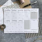 Weekplanner - Planner A4 - Studio Thoés
