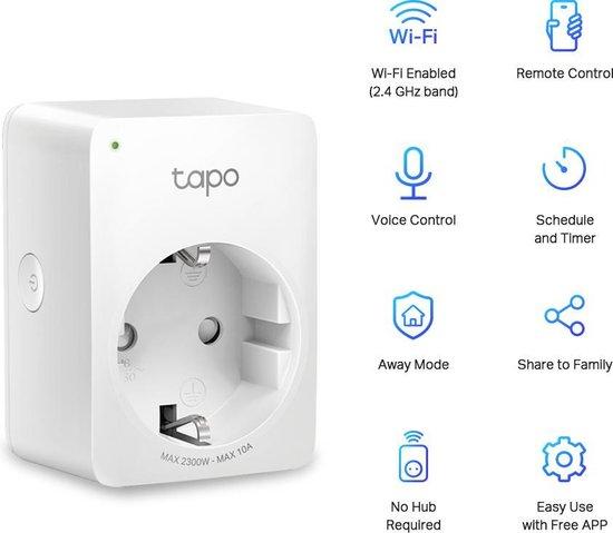 Tapo P100 - Slimme wifi stekker - 4-pack